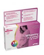 APTEO Witaminy dla kobiet w ciąży - 30 tabl. - Apteka internetowa Melissa