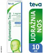 XYLOMETAZOLIN TEVA Aerozol do nosa 1 mg/ml - 10 ml - Apteka internetowa Melissa