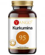 Yango Kurkumina 95 445 mg - 60 kaps. - cena, opinie, właściwości