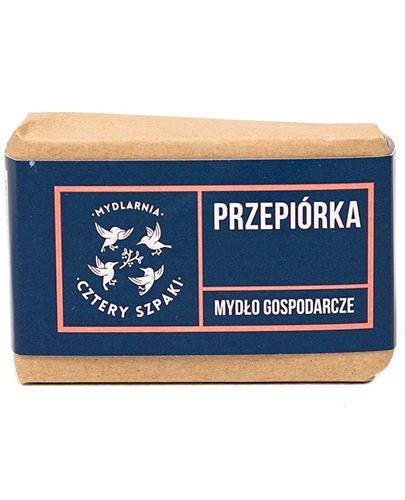 Mydlarnia Cztery Szpaki Przepiórka Mydło gospodarcze - 110 g - cena, opinie, stosowanie - Drogeria Melissa