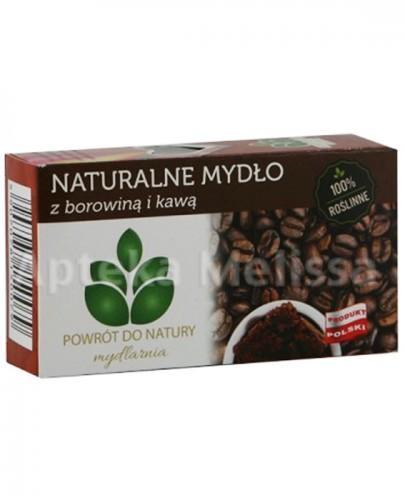 MYDLARNIA Naturalne mydło z borowiną i kawą - 100 g - Apteka internetowa Melissa