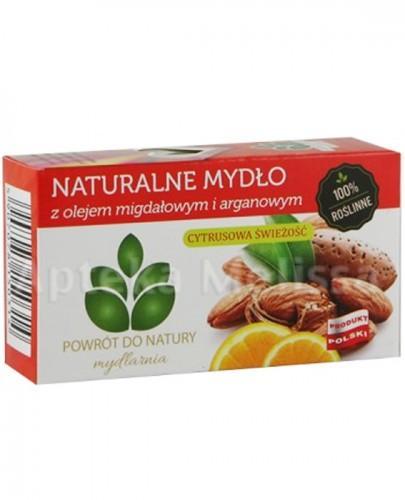 MYDLARNIA Naturalne mydło z olejem migdałowym i arganowym - 100 g  - Apteka internetowa Melissa