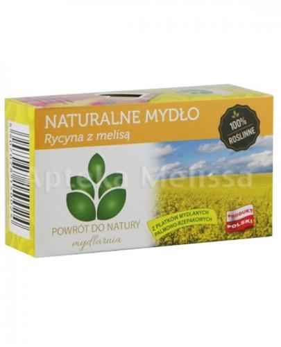 MYDLARNIA Naturalne mydło rycyna z melisą - 100 g  - Apteka internetowa Melissa