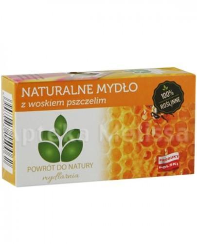 MYDLARNIA Naturalne mydło z woskiem pszczelim - 100 g  - Apteka internetowa Melissa