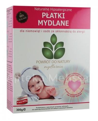 MYDLARNIA Naturalne hipoalergiczne płatki mydlane dla niemowląt i osób ze skłonnością do alergii - 300 g  - Apteka internetowa Melissa
