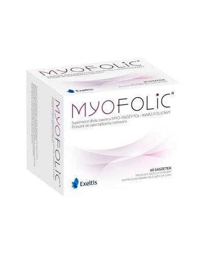 MYOFOLIC - wsparcie dla płodności kobiet - 60 saszetek Data ważności 2021.06.30 - Apteka internetowa Melissa