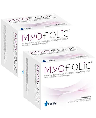 MYOFOLIC - planowanie ciąży  - 2 x 60 saszetek