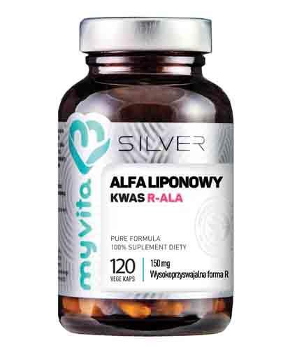 MYVITA Kwas alfa liponowy R-ALA 150 mg - 120 kaps. - Apteka internetowa Melissa