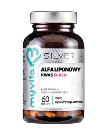 MYVITA Kwas alfa liponowy R-ALA 150 mg - 60 kaps. - cena, dawkowanie