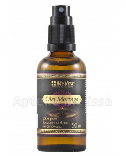 MYVITA Olej moringa nierafinowany - 50 ml