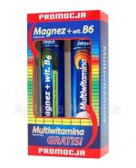 ZDROVIT Magnez z witaminą B6 + Multiwitamina - 24 tabl. mus. + 20 tabl. mus. - Apteka internetowa Melissa