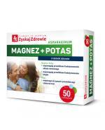 ZYSKAJ ZDROWIE Asparaginum Magnez + Potas - 50 tabl.  - Apteka internetowa Melissa