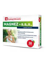 ZYSKAJ ZDROWIE Magnez + B1 B6 B12 - 30 tabl. - Apteka internetowa Melissa