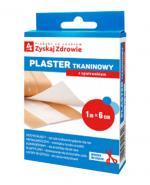 ZYSKAJ ZDROWIE Plaster tkaninowy z opatrunkiem 1m x 6 cm - 1 szt. - Apteka internetowa Melissa