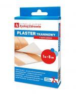 ZYSKAJ ZDROWIE Plaster tkaninowy z opatrunkiem 1m x 8 cm - 1 szt. - Apteka internetowa Melissa