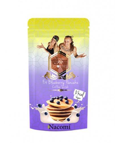 NACOMI FIT LOVERS Peeling kawowy borówkowe pankejki - 125 g - Apteka internetowa Melissa