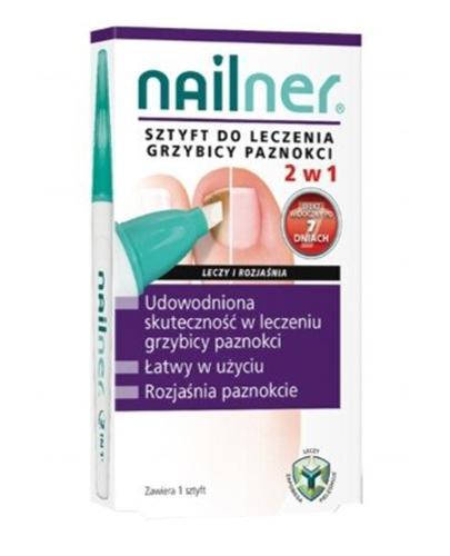 NAILNER SZTYFT Preparat na grzybicę paznokci - 4 ml - Drogeria Melissa