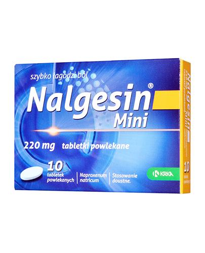 NALGESIN MINI 220 mg - 10 tabl. Data ważności: 2017.04.30 - Apteka internetowa Melissa