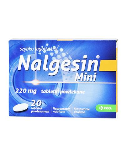 NALGESIN MINI 220 mg - 20 tabl. - Apteka internetowa Melissa