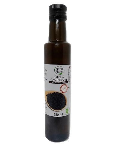 NATUR PLANET Olej z czarnuszki - 250 ml - alergia, problemy skórne - cena, właściwości, opinie - Apteka internetowa Melissa