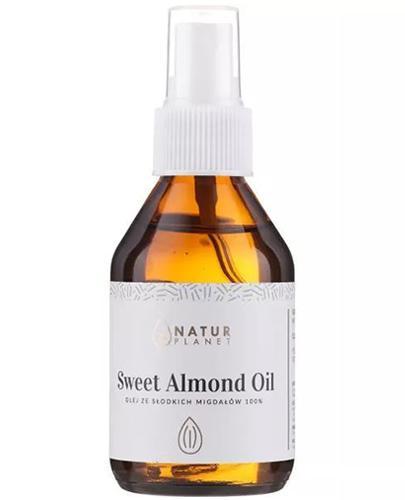 Natur Planet Sweet Almond Oil Olej ze słodkich migdałów - 100 ml - cena, opinie, właściwości - Drogeria Melissa