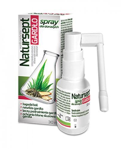 NATUR-SEPT GARDŁO Spray dla dorosłych - 30 ml - Apteka internetowa Melissa