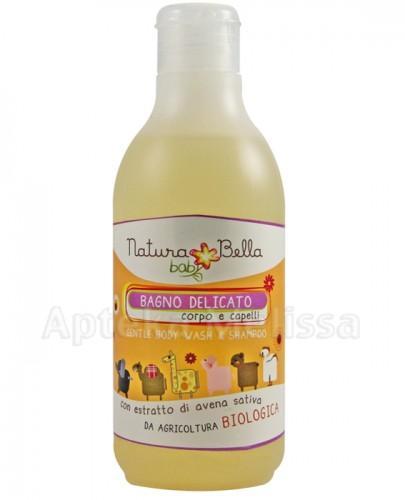NATURA BELLA BABY Delikatny płyn do kąpieli i szampon 2w1 - 250 ml - Apteka internetowa Melissa