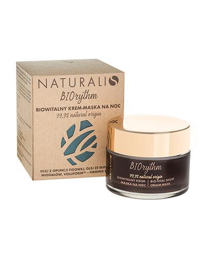 Naturalis Biorythm Biowitalny krem-maska na noc - 50 ml - cena, opinie, właściwości - Drogeria Melissa