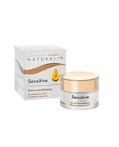 Naturalis Sensitive Krem nawilżający - 50 ml - cena, opinie, właściwości - Drogeria Melissa