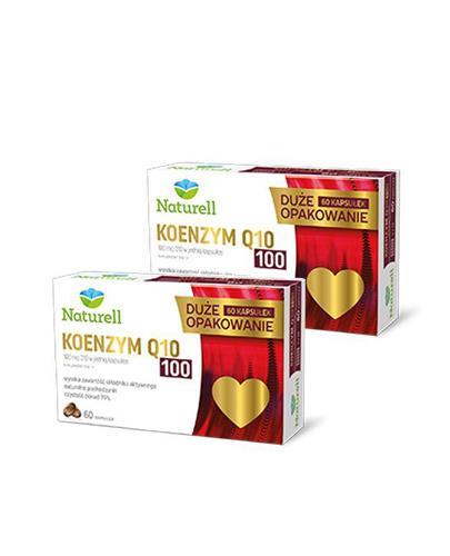 Naturell Koenzym Q10 100 mg - 2 x 60 kaps. - cena, opinie, właściwości