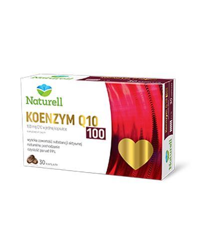 NATURELL KOENZYM Q10 100mg - 30 kaps.