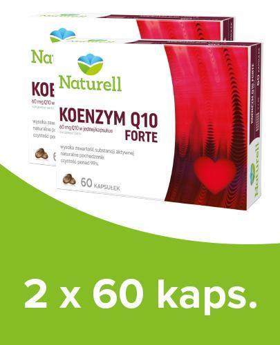 NATURELL KOENZYM Q10 FORTE - 2 x 60kaps.