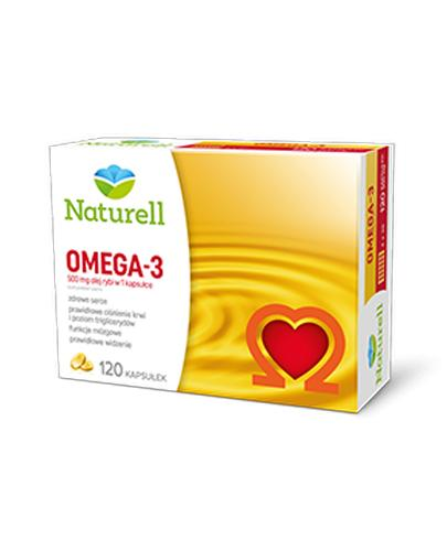 NATURELL Omega-3 500 mg - 120 kaps. - Apteka internetowa Melissa