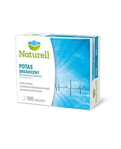 NATURELL Potas organiczny - 100 tabl. - Drogeria Melissa