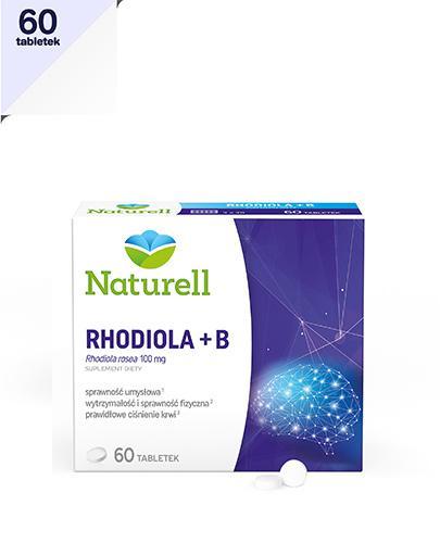 NATURELL Rhodiola + B - 60 tabl. - Drogeria Melissa