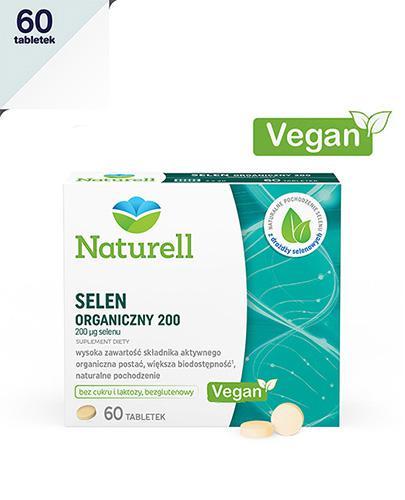 NATURELL Selen organiczny 200 - 60 tabl. - Apteka internetowa Melissa
