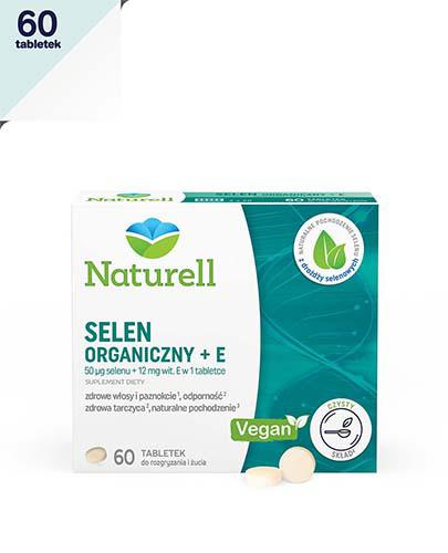 NATURELL Selen organiczny + E - 60 tabl. - Apteka internetowa Melissa