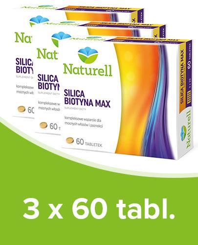 NATURELL SILICA BIOTYNA MAX - 3 x 60 tabl.