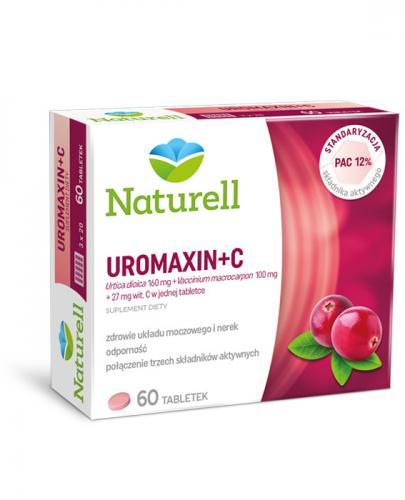 NATURELL Uromaxin + C - 60 tabl. - Drogeria Melissa