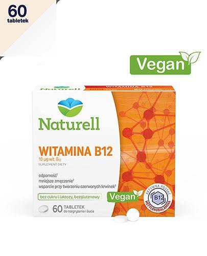 NATURELL Witamina B12 - 60 tabl. - Apteka internetowa Melissa
