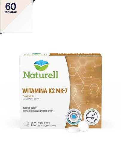 NATURELL Witamina K2 MK-7 - 60 tabl. do ssania