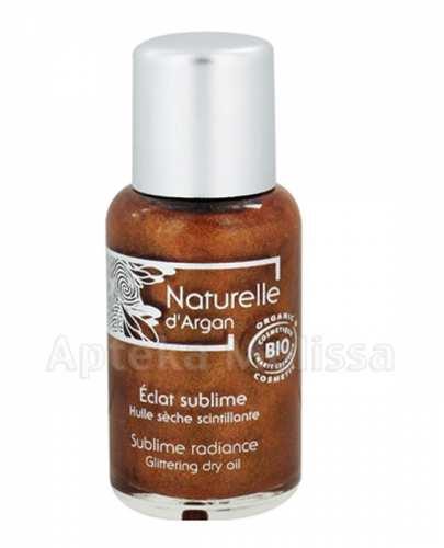 NATURELLE D'ARGAN Subtelnie rozświetlający olejek do ciała arganowy - 50 ml - Apteka internetowa Melissa