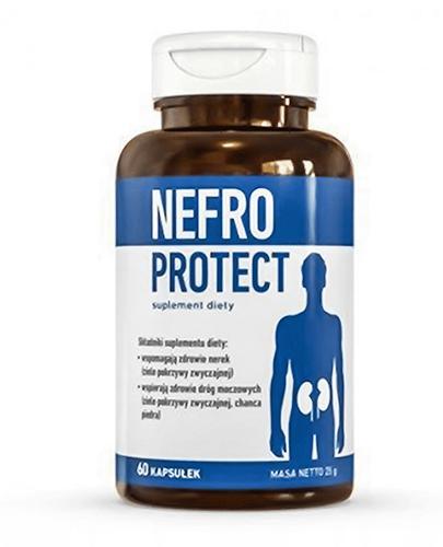 NEFRO PROTECT Działa moczopędnie - 60 kaps.