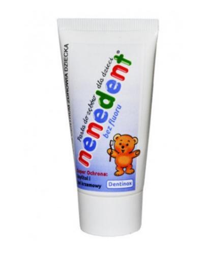 NENEDENT Pasta do zębów dla dzieci bez fluoru - 50 ml - Apteka internetowa Melissa