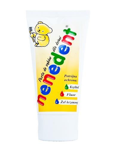 NENEDENT Pasta do zębów dla dzieci potrójna ochrona - 50 ml - cena, stosowanie, opinie