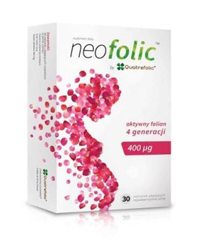 Neofolic aktywny folian 4 generacji 400 ug - 30 tabl.- cena, opinie, dawkowanie - Apteka internetowa Melissa