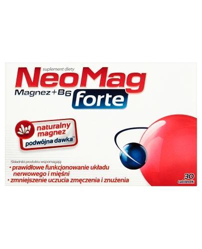 NEOMAG FORTE Magnez+B6 - 30 tabl. - Drogeria Melissa