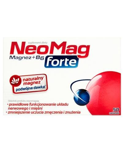 NEOMAG FORTE Magnez+B6 - 50 tabl. - Drogeria Melissa
