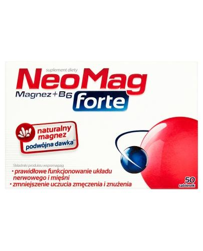 NEOMAG FORTE Magnez+B6 - 50 tabl. - Apteka internetowa Melissa