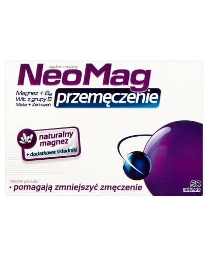 NEOMAG PRZEMĘCZENIE - 50 tabl. - Drogeria Melissa